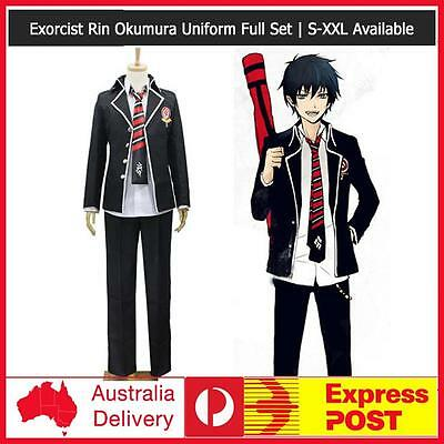 EXPRESS Ao no Blue Exorcist Yukio Okumura Bag Cosplay Costume