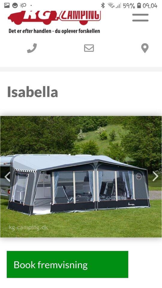 Fortelt, Isabella Capri, a mål: – dba.dk – Køb og Salg af