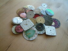 30  VINTAGE STEAMPUNK WATCH FACES ART CRAFT JEWELLERY MAKING