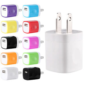 USB-Wall-Charger-Power-Adapter-AC-Home-US-Plug-FOR-iPhone-6-7-8-X-Samsung-LG-HTC