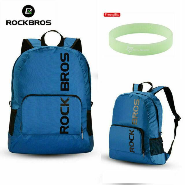 RockBros Waterproof Foldable Backpack Hiking Cycling Outdoor Sporting Bag