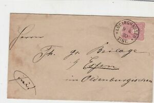 Germany 1880 Stamps Cover to Essen Oldenburg Lodinghausen Cancel Ref 23242