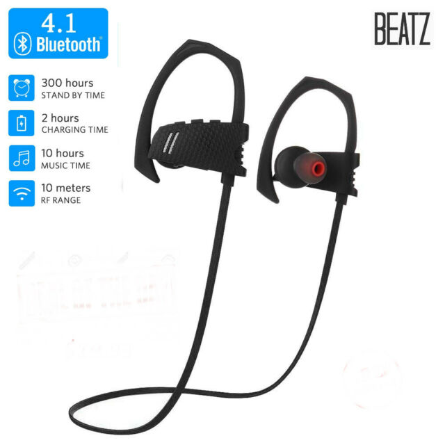 running shoes buy good aliexpress SoundPEATS Bluetooth Headphones Wireless 4.1 Magnetic Earbuds Stereo  Earphones with Mic, Secure Fit for Sports - Black