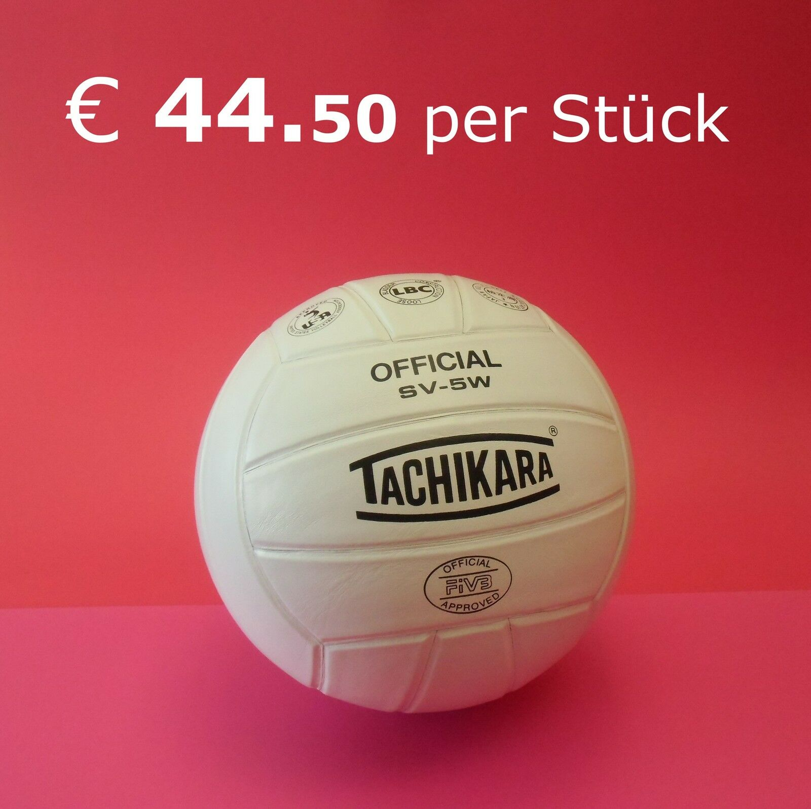 ►►TACHIKARA Official SV-5W  ► klassischer Edel-Volleyball aus aus aus Natur-Leder ►NEU 0fcabf