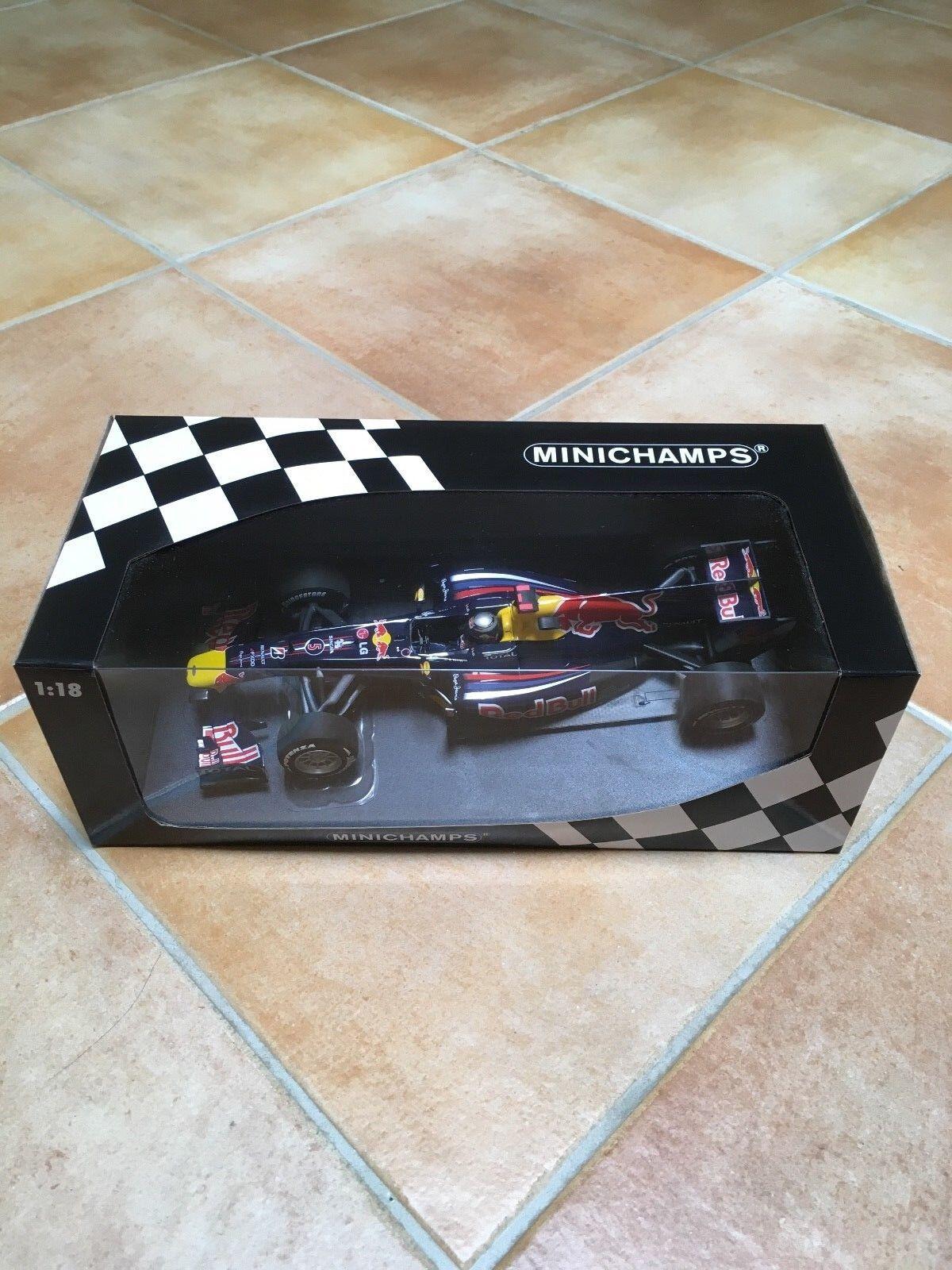 MINICHAMPS RED BULL RACING RENAULT RB6 SEBASTIAN VETTEL 2010