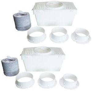 2x-Universal-Secadora-Kit-de-ventilacion-del-condensador-caja-con-manguera