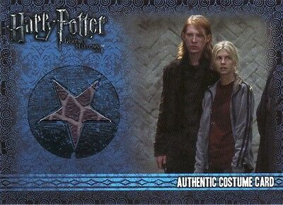 Harry Potter Deathly Hallows 1 Case Topper Crystal Chase Card CT1 Bellatrix Lest