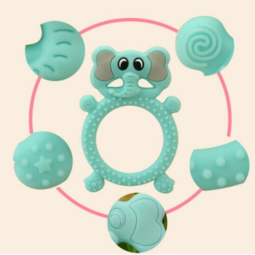 Silicone Elephant Chewy Safety Teething Child Teething Sensory Toys Children IT
