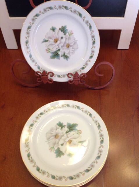 """6 - NORITAKE 5029  Salad Plate 7.25"""" NEAR MINT to MINT *2 Sets Available*"""