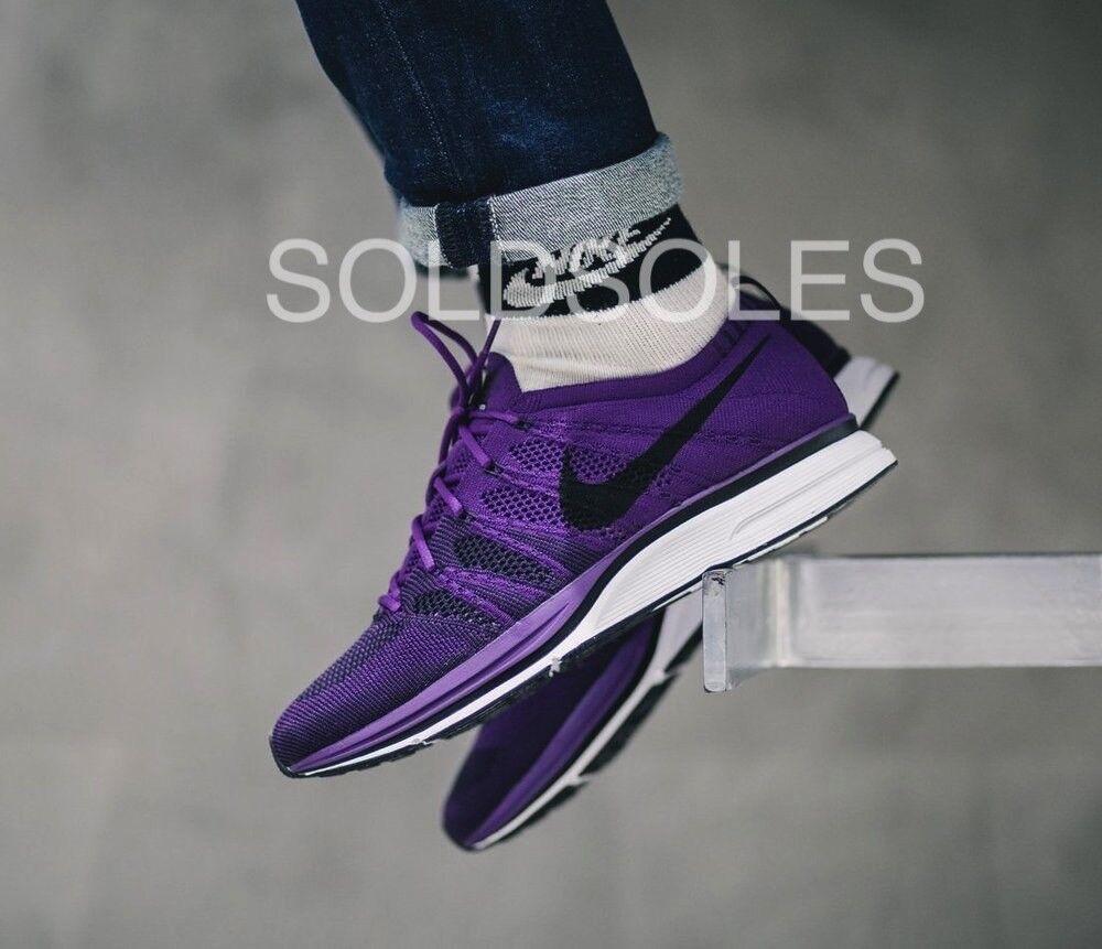Nike flyknit trainer notte viola a basso costo e di moda