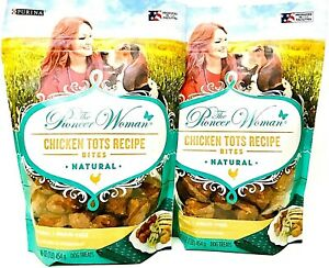2 Purina 16 Oz The Pioneer Woman Chicken Tots Recipe Bites Natural Dog Treats