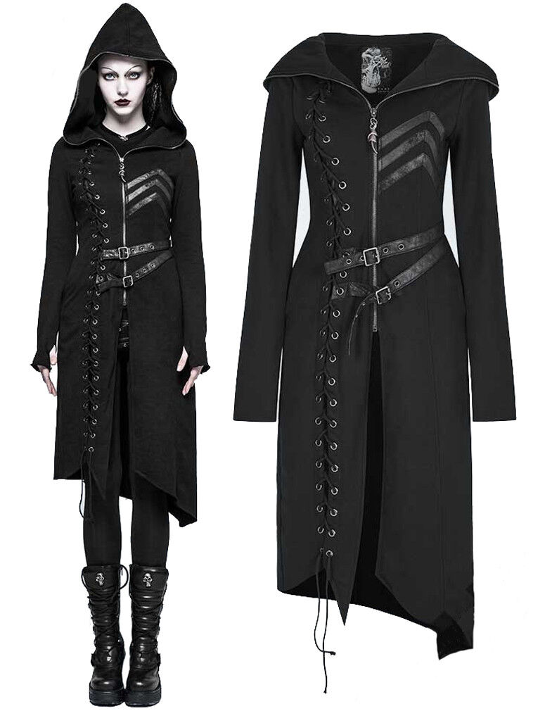 RESIDENT EVIL - Hooded Sweater Coat for Women by Punk Rave