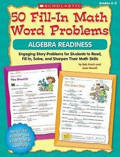 50 FILL-IN MATH WORD PROBLEMS [9780545074841]