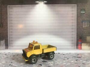 Matchbox-Lesney-Superfast-Unimog-Rescue-Snow-Plough-1983-vintage-No-yellow