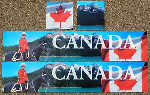1/14 Camion Frigorifique Boîte Bande-annonce Autocollants Canada Drapeau Mounty