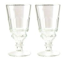 Authentic La Rochere Pontarlier Absinthe Glass - 2 Pack - French Specialty Drink