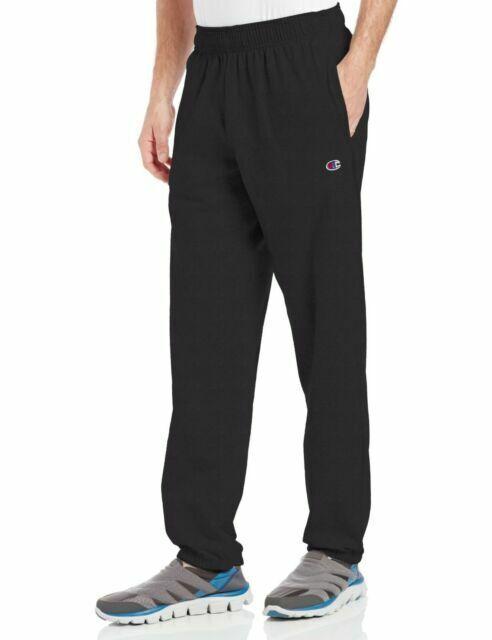 NWT ADIDAS Men/'s Lightweight Jersey Sweatpants Gray Black White L XL 2XL