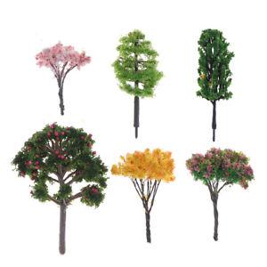 12pcs-Modele-Arbre-Sable-table-arbres-Modelisme-pflantze-Decoration-miniature-arbres