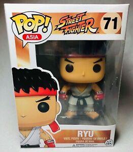 Funko Pop Asia Street Fighter Ryu Vinyl Figure #71