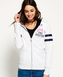Image is loading New-Womens-Superdry-Track-amp-Field-Ziphoo-Ice- e76222a1e1c
