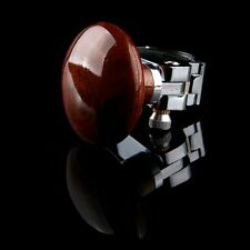1x Car Steering Wheel Knob Power Handle Spinner Easy Turn Safe For Driving Brown