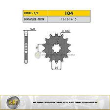 2014-2019 Ritzel 16-Zähne 420-Teilung Kawasaki KX 85 D Grossrad Bj
