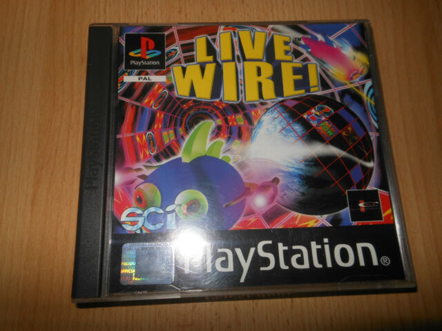 LIVE WIRE - PlayStation 1 - Sony - PAL VERSION  - PS1 - MINT COLLECTORS