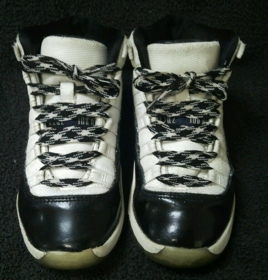 Nike Air Jordan 11 Retro Concords Price reduction PS Comfortable Wild casual shoes