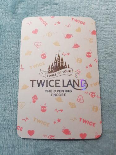 TWICE 1st TOUR TWICE LAND THE OPENING ENCORE Jihyo Special Photo Card K-POP 8