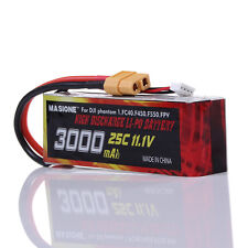 New 3000MAh 11.1V 3S 25C Lipo Battery For DJI Phantom 1 CX-20 FC40 Quadcopter