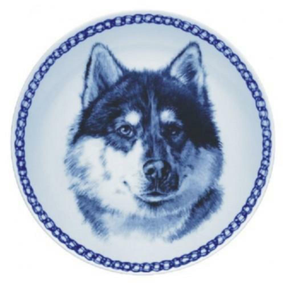 Canadian Eskimo Dog - Dog Plate made in Denmark from the finest European Porcela