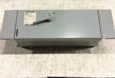 Fdpws323r Cutler Hammer Westinghouse Fusible Switch 100 Amp 240v