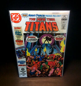 NEW-TEEN-TITANS-21-1ST-APPEARANCE-BROTHER-BLOOD-DC-Comics-George-Perez-1982-VF