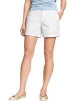 Old Navy White Shorts Stretch 5 Inseam