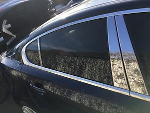 2009 2010 2011 jaguar xf rear right window chrome trim molding ebay image is loading 2009 2010 2011 jaguar xf rear right window publicscrutiny Image collections