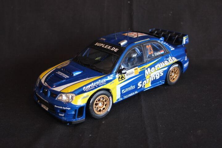 QSP Subaru Impreza S12 WRC'06 1 18 van Eldik   Groenuovooud Deutschle (AK)