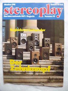 STEREOPLAY-SONDERDRUCK-10-81-6-SEITEN-TSM-PURIS-92-SONY-SS-G1-MK2-ONKYO-SC-400