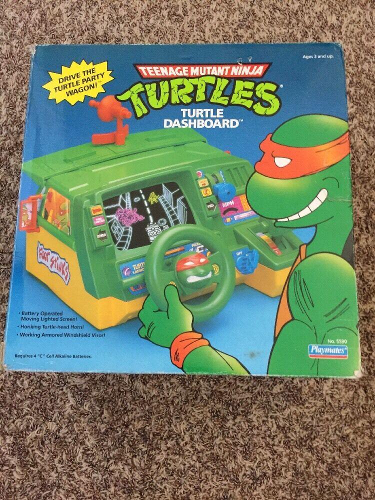 Playmates 1991 Teenage Mutant Ninja Ninja Ninja Turtles TMNT Turtle Dashboard Party Wagon f1958f
