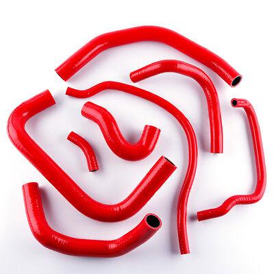 Red For HONDA CBR 900 RR FIREBLADE 1998-1999 Silicone Radiator Hose Kit