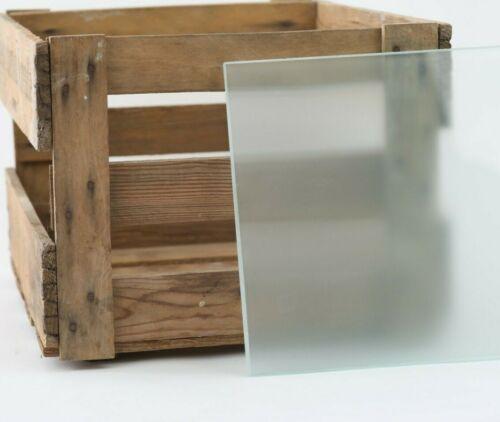 Glasscheibe Glasplatte Glas auf Wunschmaß Glaseinlegeboden Satiniertes Glas