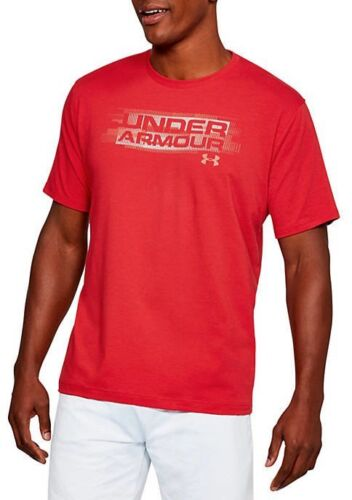UNDER ARMOUR MEN/'S PHASE WOODMARK T SHIRT WHITE BLUE RED M L XL XXL NEW NWT
