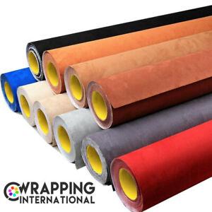 Velourstoff Mikrofaserstoff Selbstklebend Car Wrapping Folie Microfaserstoff