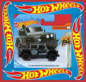 HOT-WHEELS-2019-039-15-LANDROVER-DEFENDER-DOUBLE-CAB-14-250-neu-amp-ovp