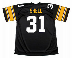 Details about DONNIE SHELL Pittsburgh Steelers 1979 Throwback Home NFL Football Jersey
