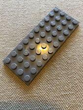 dark grey plate 4x10 2 x 3030 lego plate courrier électronique nine new dark grey