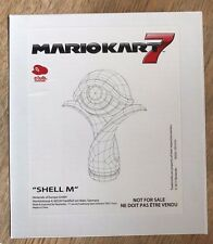 Mario Kart Trophy 7 - Shell M - Green Koopa - Brand New in Box - Club Nintendo
