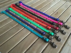 "Full Grip Supply 1/2"" Biothane Tab Leash Long Line No Handle Free Shipping"