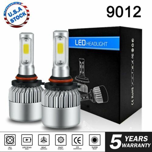 LED Car Headlight Bulbs 9012 for 2017-2018 Toyota Corolla iM RAV4 High Low Beam