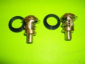 Mercury 125 135 140 150 175 200 225 hp Thermostat Seal 2 pack set 143F Degree