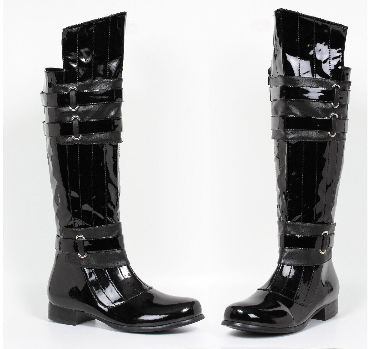 negro Star Wars Darth Vader Kylo Ren botas De Disfraz De Para Hombre